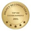 Vergelegen Highly Recommended - Top 100 Establishments